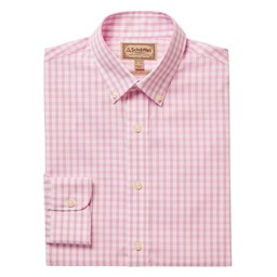 Schoffel Country Harlyn Tailored Fit Shirt in Pink/White