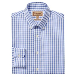 Schoffel Country Harlyn Tailored Fit Shirt in Blue/White