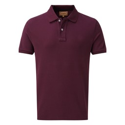 Schoffel Country Padstow Polo Shirt in Fig