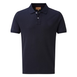 Schoffel Country Padstow Polo Shirt in Midnight