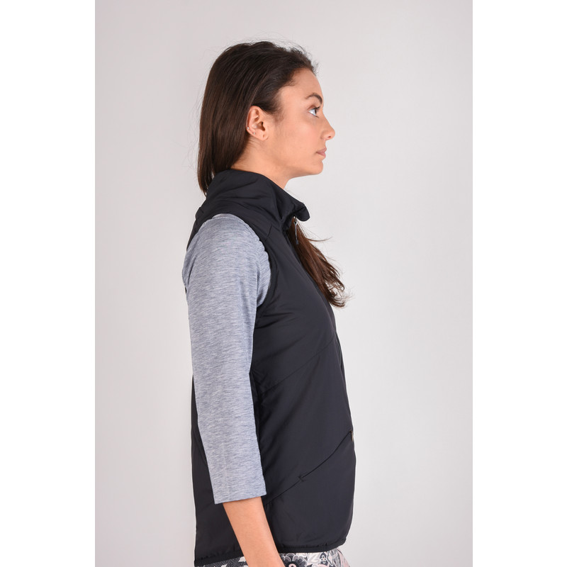 Ukalo Reversible Vest - Black
