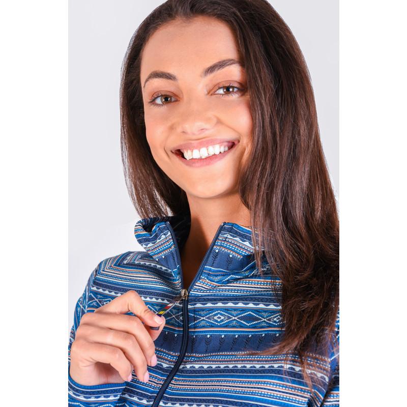 Preeti Jacket - Neelo Blue