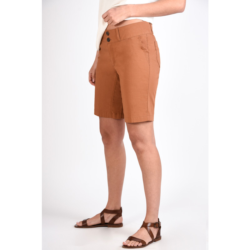 Naya Bermuda Short - Henna Brown