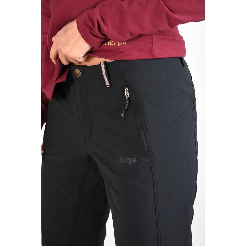 Naulo 5-Pocket Pant - Black