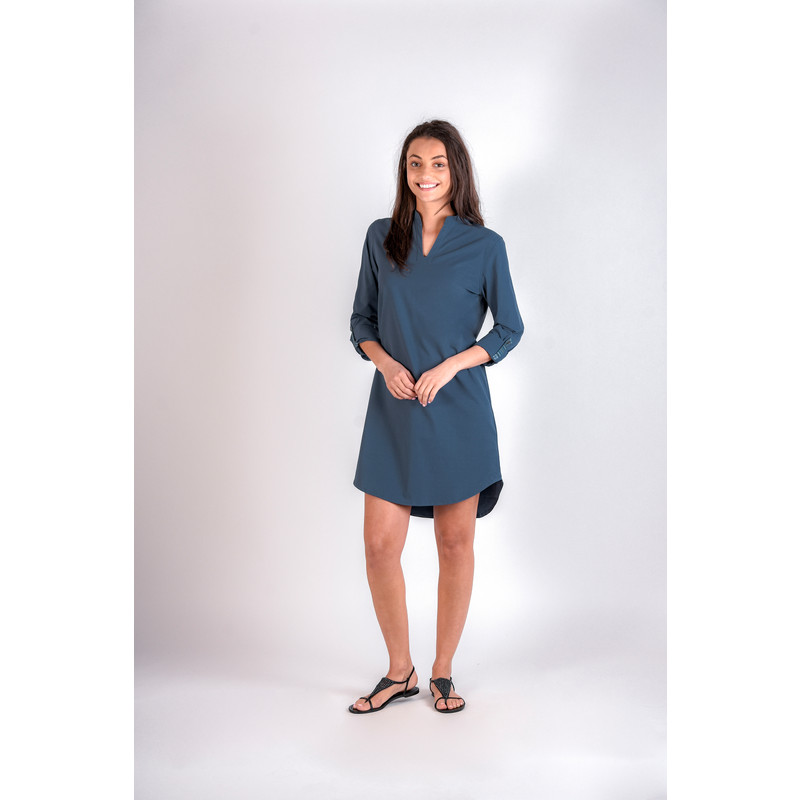 Maitri Dress - Neelo Blue