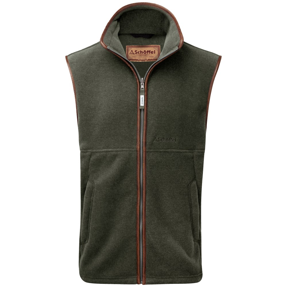 Oakham Fleece Gilet Moss