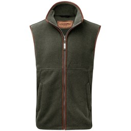 Schoffel Country Oakham Fleece Gilet in Moss