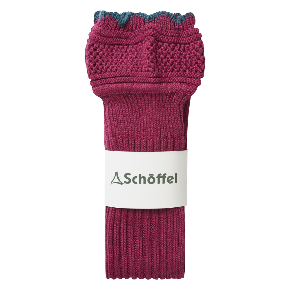 Thistle Sock Raspberry