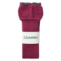 Schoffel Country Thistle Sock in Raspberry