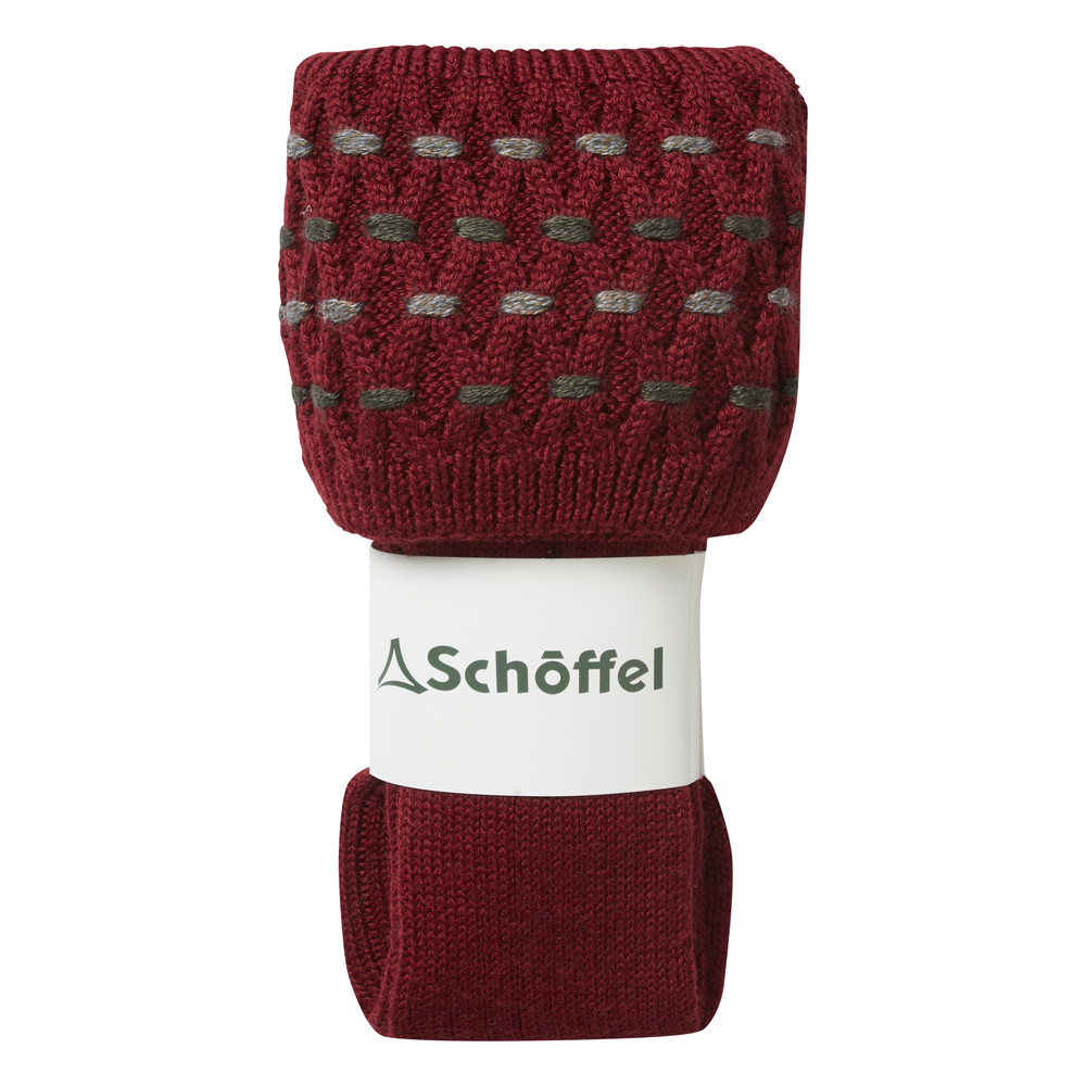 Ladies Stitch Sock II Claret