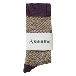Schoffel Country Braemar Sock in Thistle