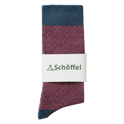 Schoffel Country Helmsdale Sock in Denim