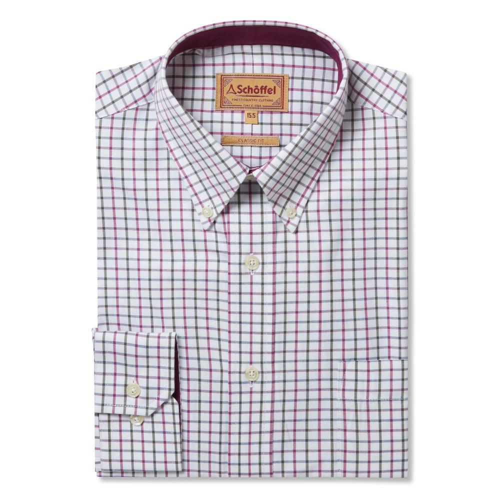 Banbury Shirt Pink/Olive Check
