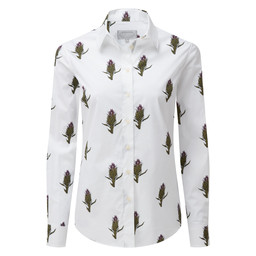 Schoffel Country Norfolk Shirt in Thistle