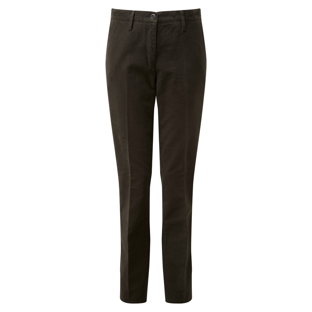 Ladies Moleskin Trousers Forest