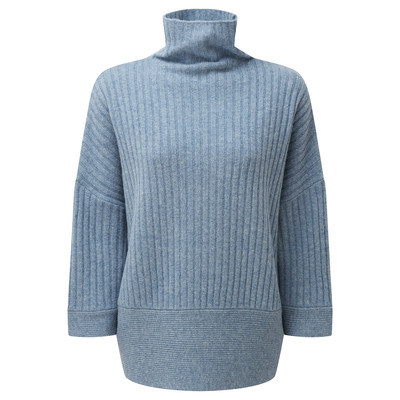 Schoffel Country Merino Loose Fit Jumper in Seagrass