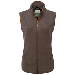 Schoffel Country Ladies Lambswool Aerobloc Gilet in Mole