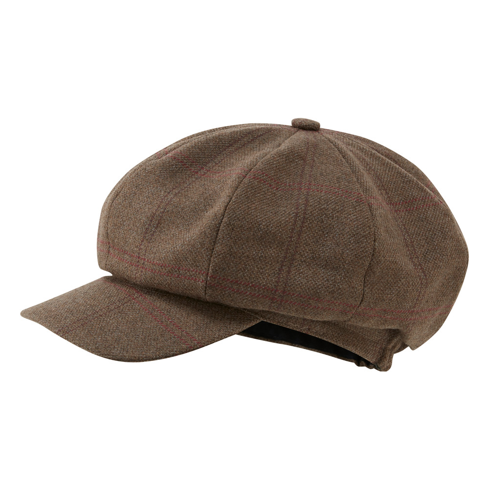 Bakerboy Cap II Sussex Tweed