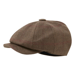 Ladies Newsboy Cap Sussex Tweed