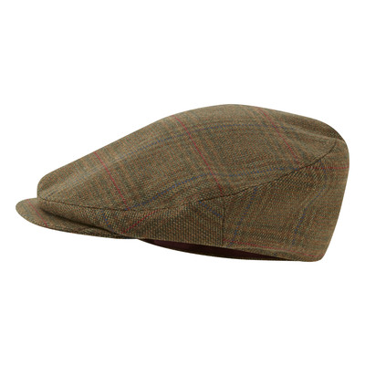 Schoffel Country Countryman Tweed Cap in Buckingham Tweed