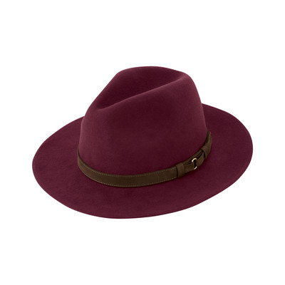 Schoffel Country Willow Fedora in Fig