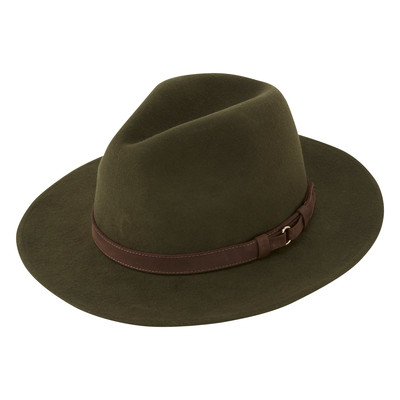 Schoffel Country Willow Fedora in Forest