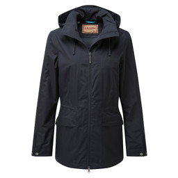 Schoffel Country Hazelwood Coat in Navy Blue