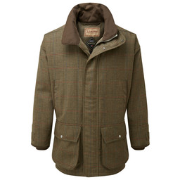 Ptarmigan Tweed Coat Buckingham Tweed