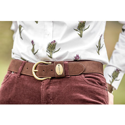 Ladies Suede Belt