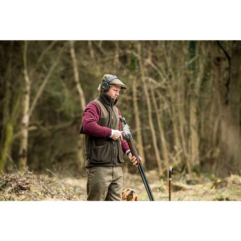 Gunnerside Shooting Vest Dark Olive