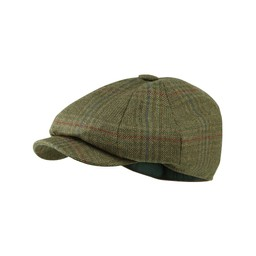 Schoffel Country Newsboy Cap in Buckingham Tweed
