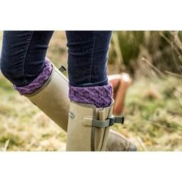 Ladies Lattice Sock