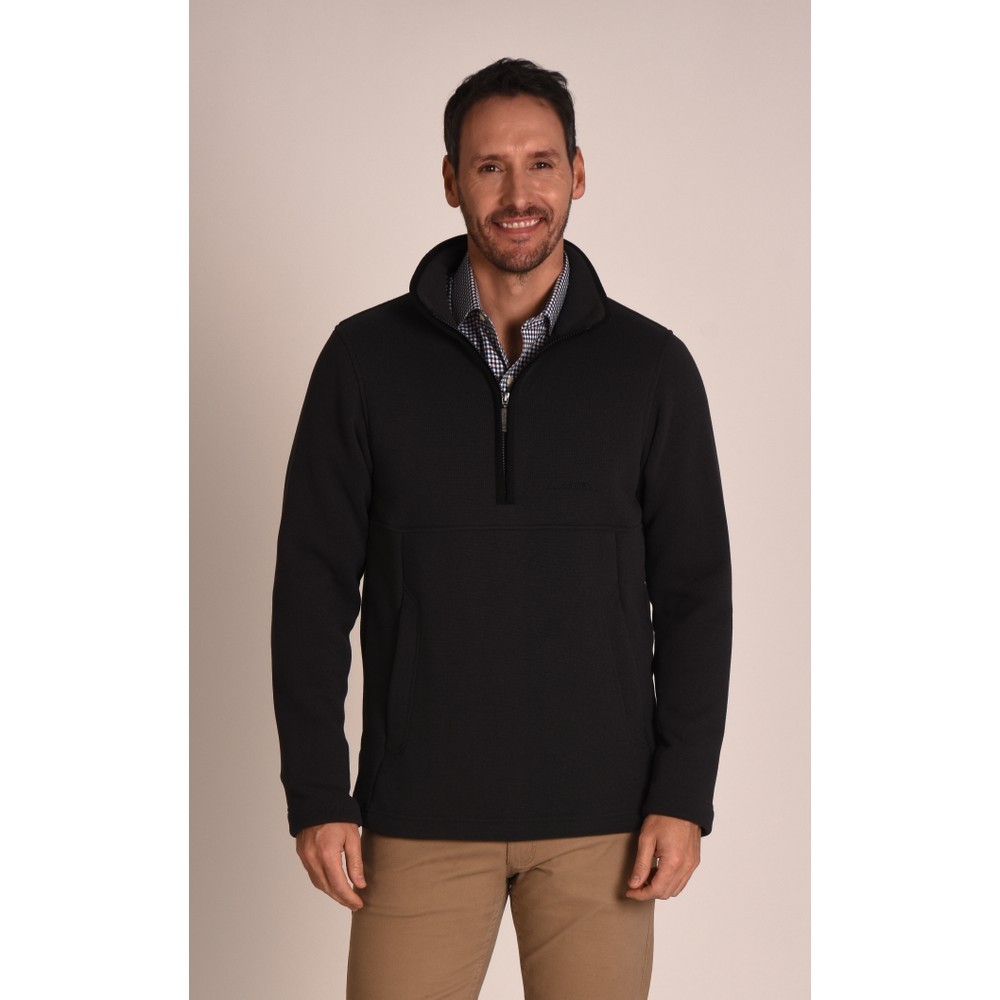 Holborn 1/4 Zip Fleece Charcoal