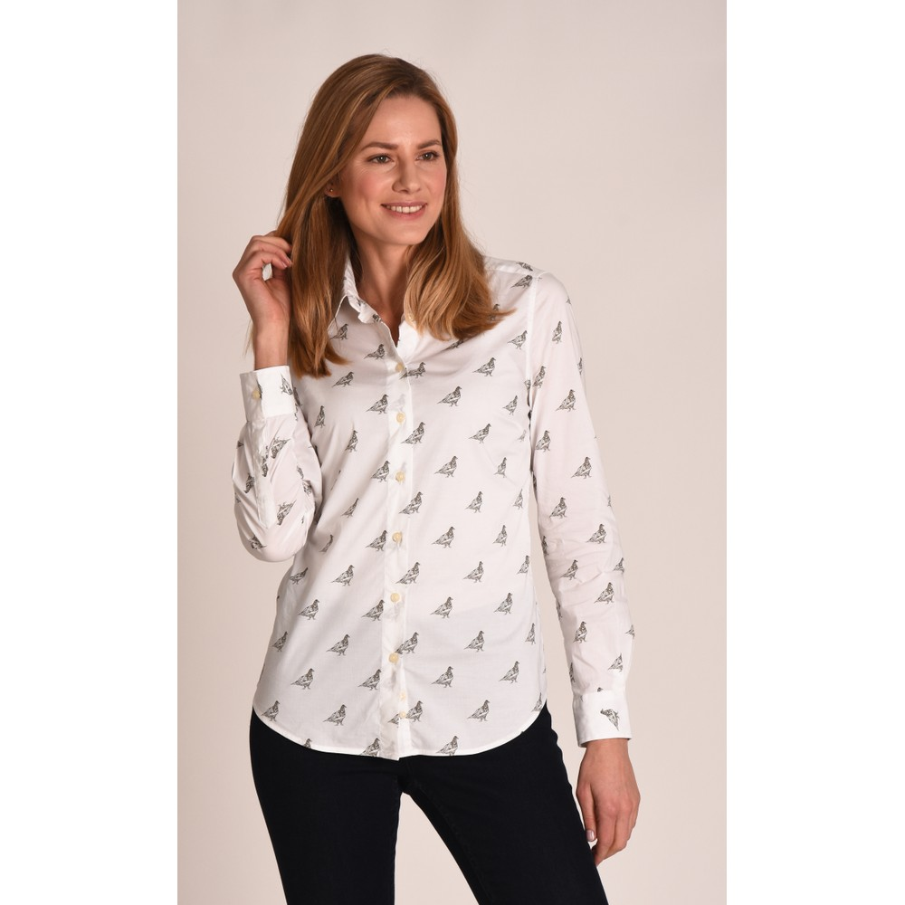 Norfolk Shirt Grey Ptarmigan