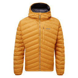 Annapurna Hooded Jacket Masala Orange