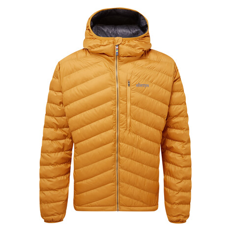 Sherpa Adventure Gear Annapurna Hooded Jacket in Masala Orange