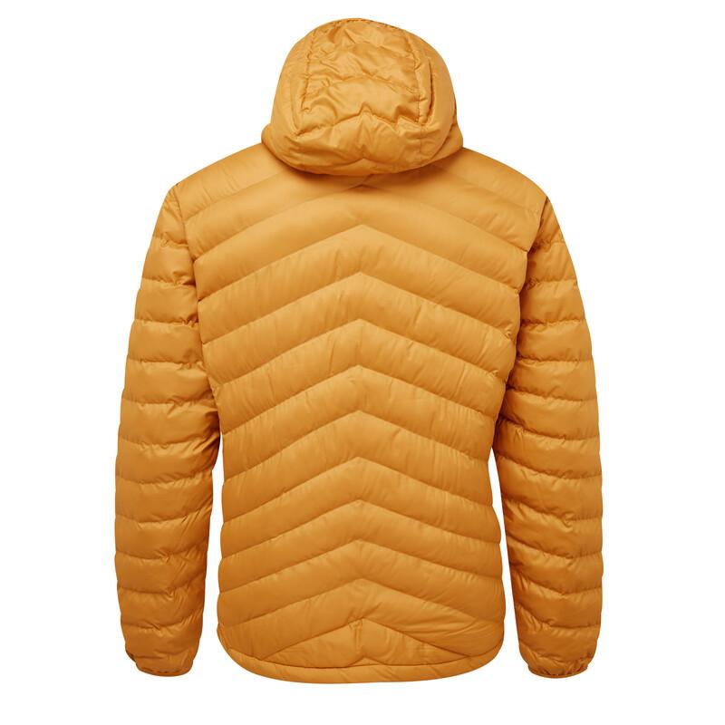 Annapurna Hooded Jacket - Masala Orange