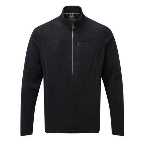 Sherpa Adventure Gear Rolpa Zip Tee in Black