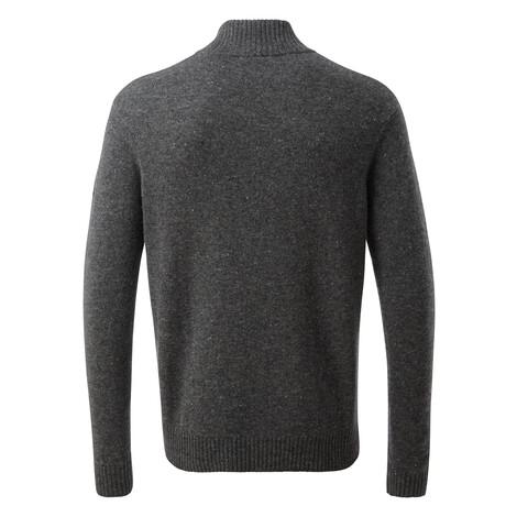 Kangtega-Pullover mit Quarter-Zipp