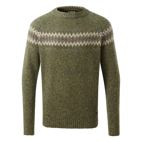 Dumji Crew Sweater Gokarna Green
