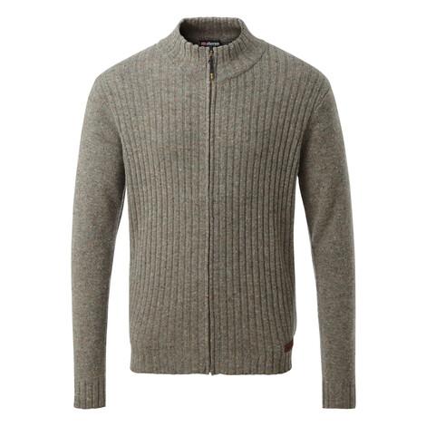 Kangtega Full Zip Sweater Tamur River