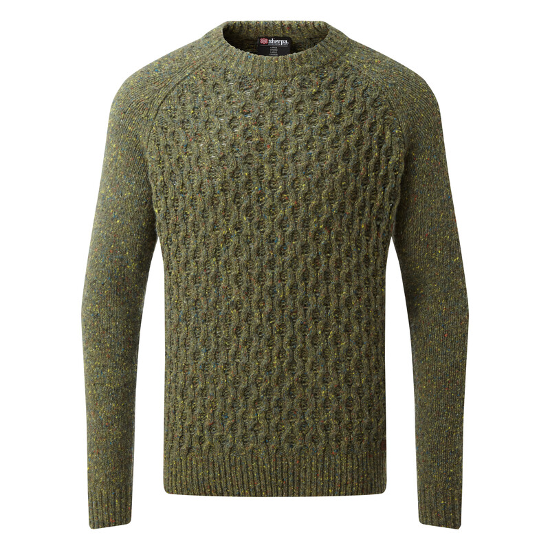Nuri Crew Sweater - Gokarna Green
