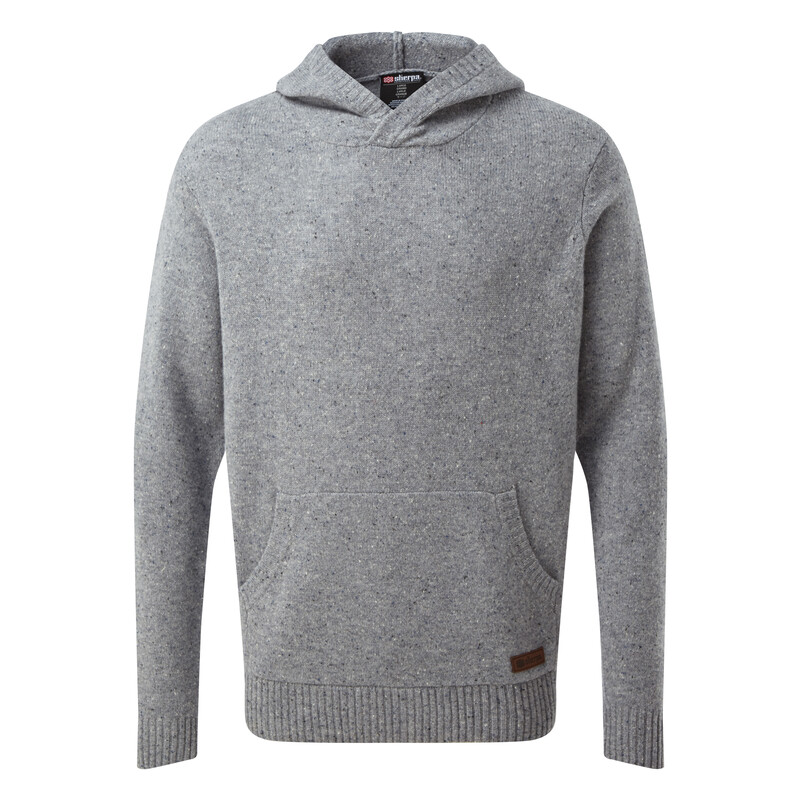 Kangtega Hoodie Sweater - Monsoon Grey
