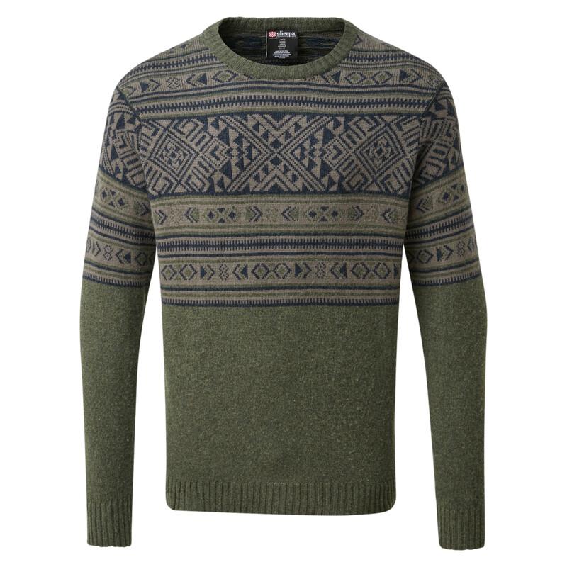 Nathula Crew Sweater - Mewa Green
