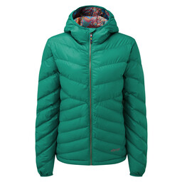 Sherpa Adventure Gear Annapurna Hooded Jacket in Pokhari Green