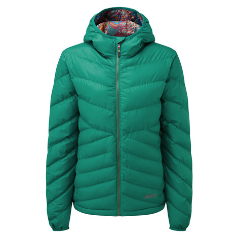 Annapurna Hooded Jacket Pokhari Green