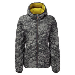 Annapurna Hooded Jacket Black Print