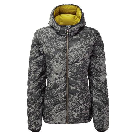 Annapurna Hooded Jacket Black Print