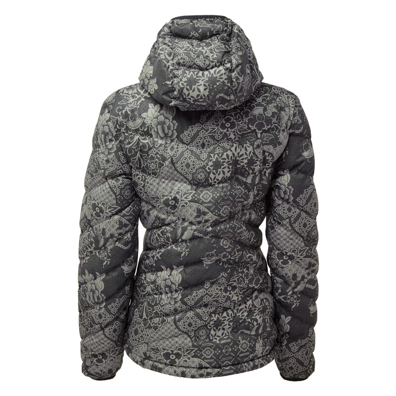 Annapurna Hooded Jacket - Black Print