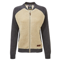 Sherpa Adventure Gear Arya Bomber Jacket in Karnali Sand